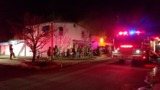 TFD: Large fire at Harvard Cleaners in north Tulsa