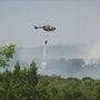 Lake Travis brush fire 90-percent contained, firefighter injured