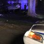 Driver flees after crashing into yard of Dayton home