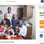 GoFundMe created for refugee family of nine that lost everything in fire