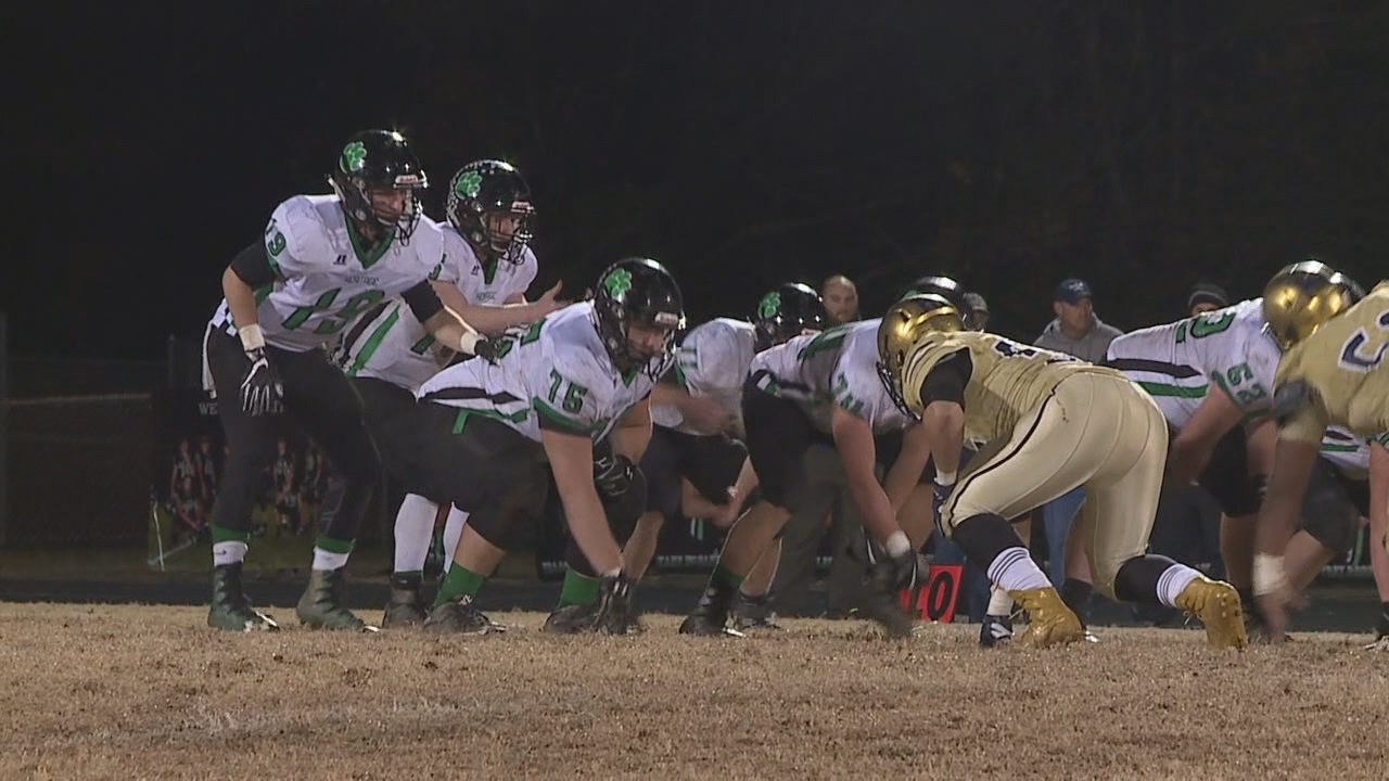 In 2A football playoffs, No. 1 Reidsville knocked off No. 2 Mountain Heritage, 27-20. (Photo credit: WGHP)