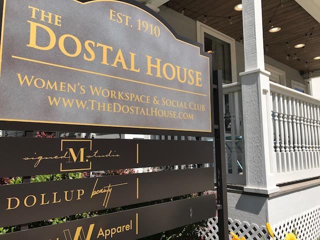 Built in 1910 during the women's suffrage movement, The Dostal House is now the state's first women's co-working space and social club.