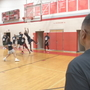 Northridge basketball coach trains players on the court and in life