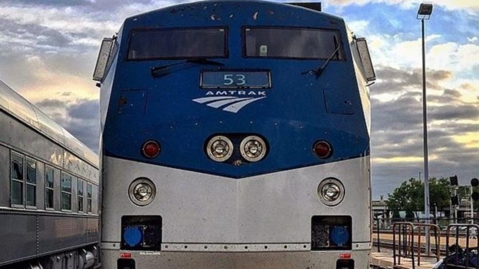 Pedestrian dies after being struck by a n Amtrak train