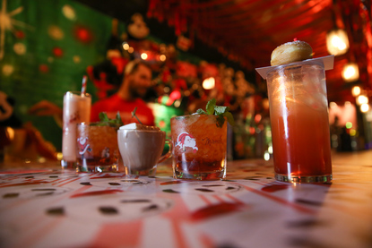 Dc Christmas Pop Up Bar.The New Christmas Pop Up Bar Is A Panda Extravaganza Dc