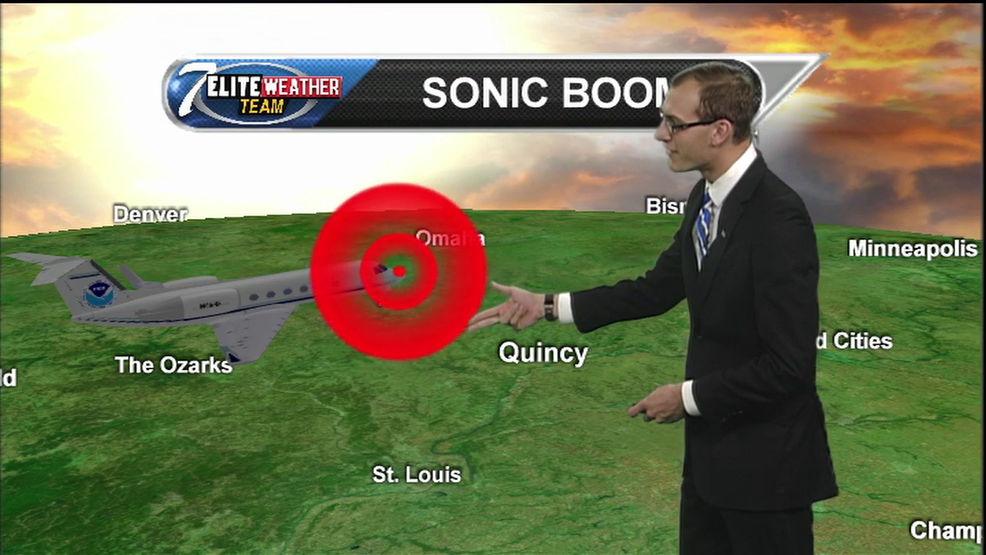 Why today's sonic boom was loud, long lasting | KHQA