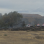 Yakima Greenway fire along I-82 still burning