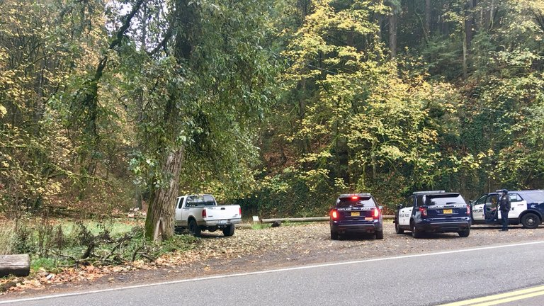Pickup truck found in Forest Park - Photo from the Washington County Sheriff's Office<p></p>