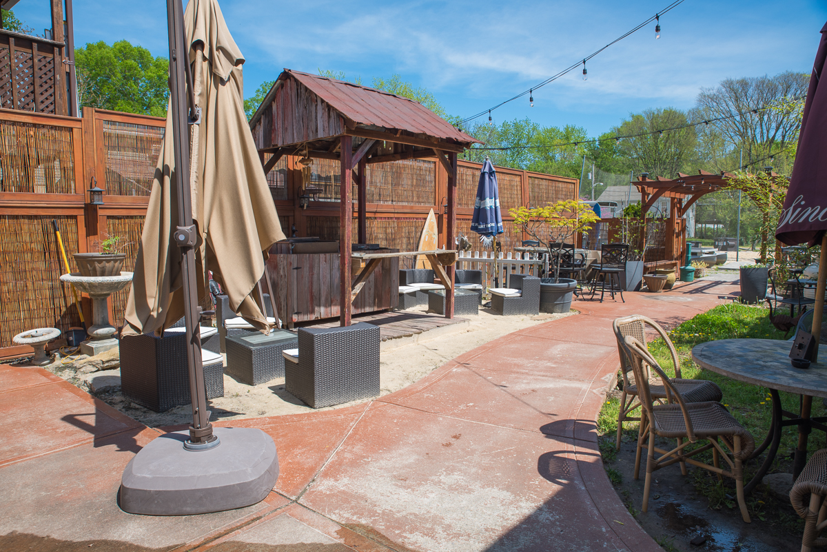 Green Kayak Market & Eatery is a restaurant with a large patio and kayak rental located at 204 Front Street (45157). / Image: Sherry Lachelle Photography // Published: 5.22.17
