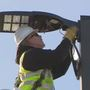 City of South Bend installing LEDs into street lights