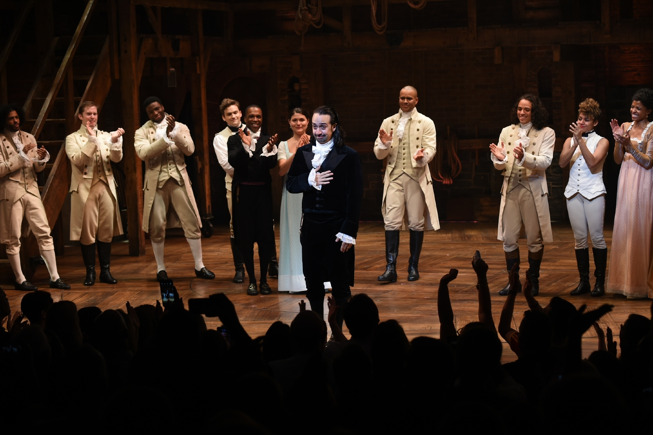 Creator of the broadway hit 39 hamilton 39 says goodbye for The broadway