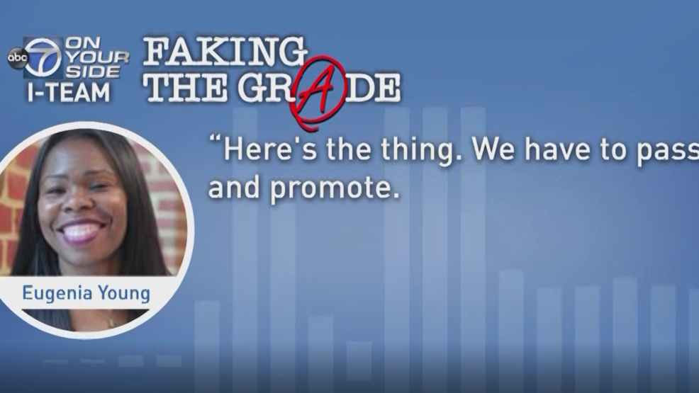 Faking Grade >> Faking The Grade What Can Be Done To Help Fix Dcps Wjla