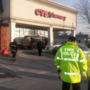 Car flips in front of CVS in Bristol