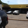 Vehicle fire at auto repair shop in Kalamazoo