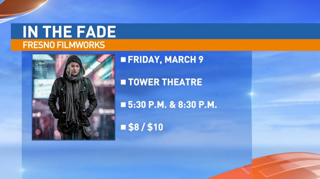 Fresno Filmworks Board Member, Justus Bier Stanberry, visited Great Day to talk about this Friday's screening of{ }''In The Fade'.'