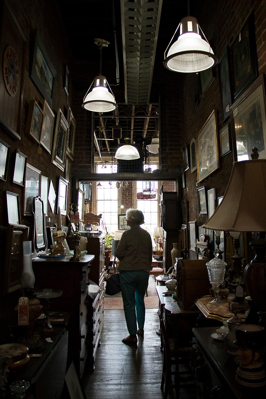The massive establishment has been collecting and selling oddities for over 50 years. The store hasn't changed much over the years, but the inventory has. Founder Joe Ley was an orphan who, at the age of 18, began collecting valuable items that other people considered trash. He would go on to turn his collection into what is today the second largest single-owned antique store in the country, housing over two acres of products. ADDRESS: 615 East Market Street, Louisville, KY (40202) / Image: Allison McAdams // Published: 10.9.18
