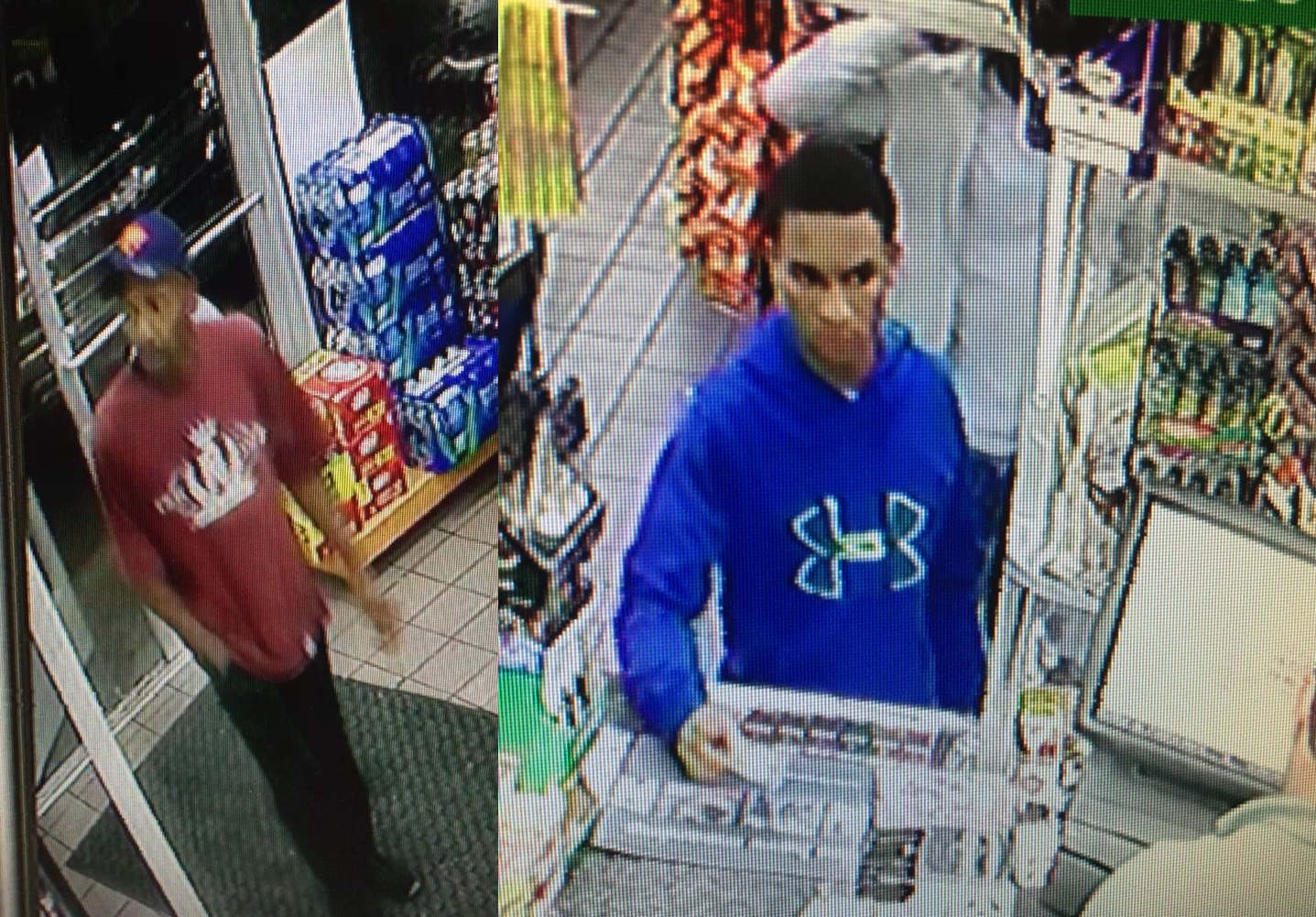 Shooter, getaway driver wanted for Friday morning Marathon gas station murder in Nashville. PHOTO: Metro Police<p></p>