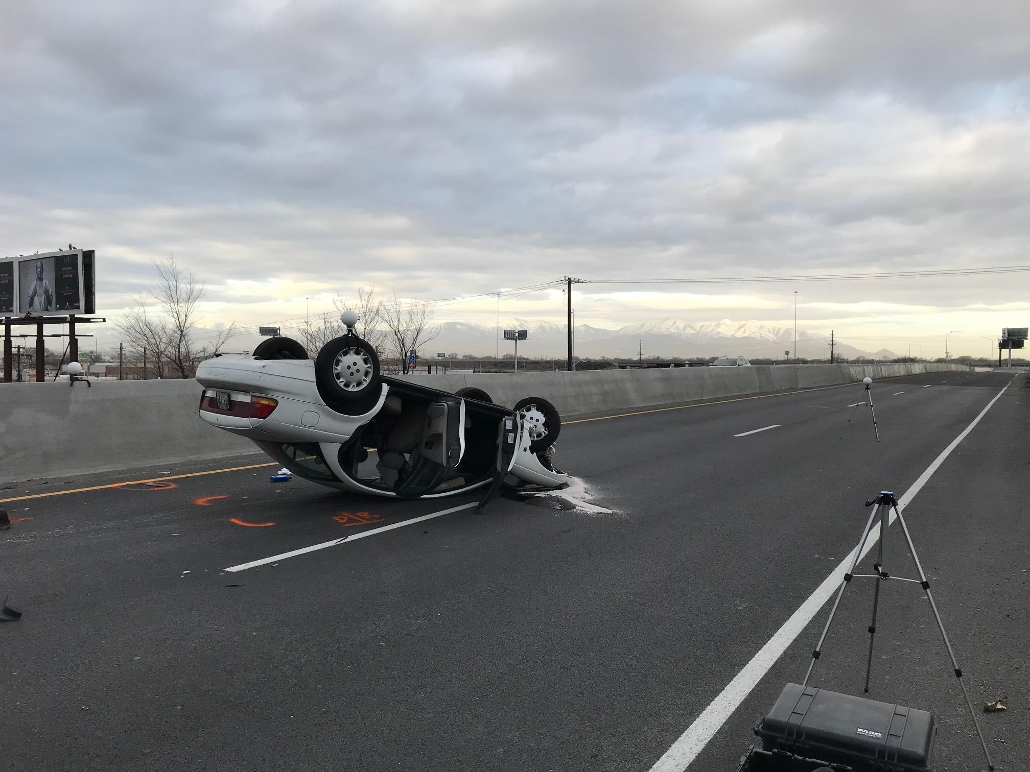 Midvale woman killed in rollover accident on 900 S on-ramp (Photo: UPD)