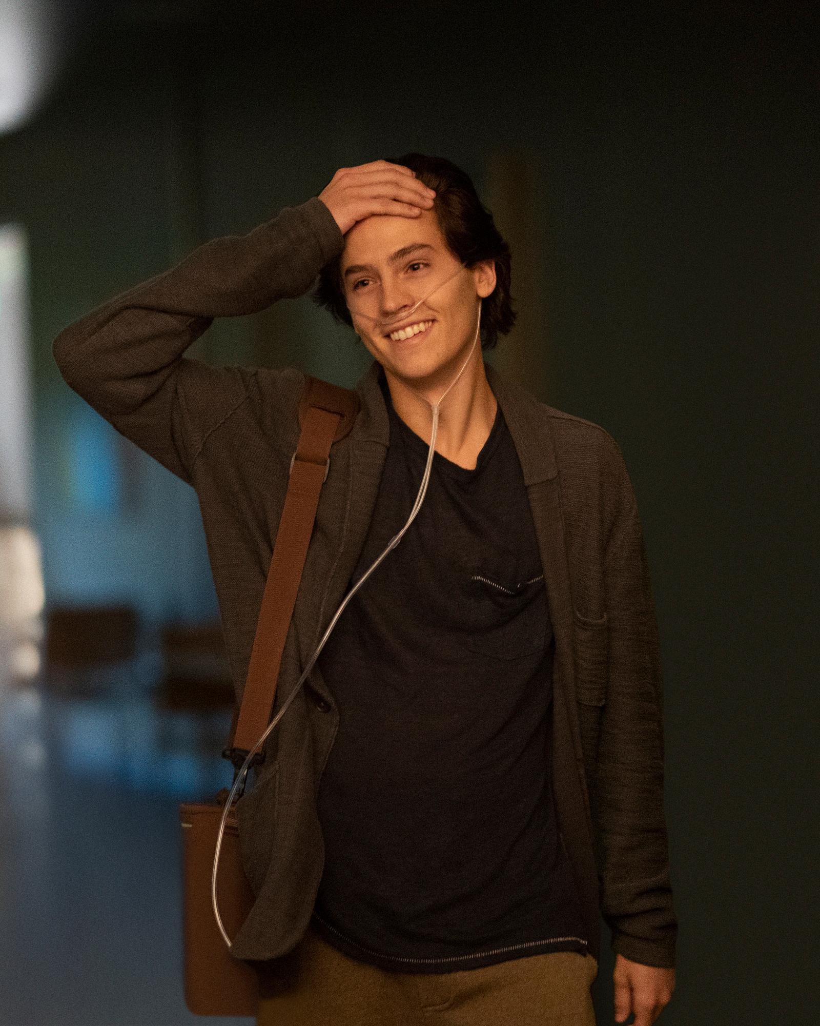 Cole Sprouse in FIVE FEET APART to be released by CBS FILMS and LIONSGATE.