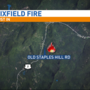 Crews on scene of fire in Dixfield