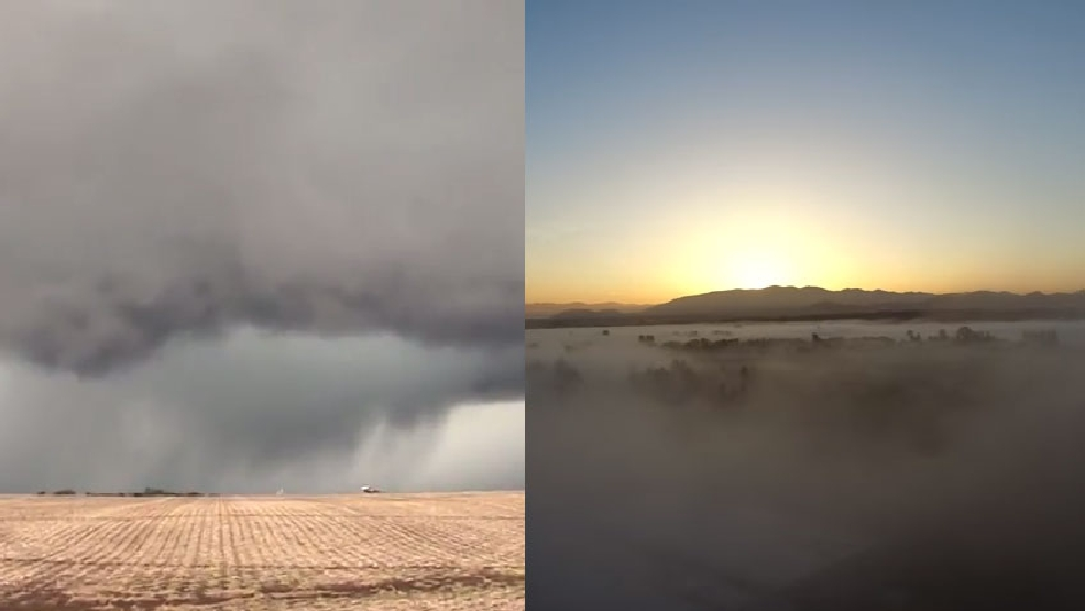 Weather video potpourri: From one extreme to the other