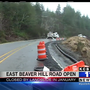 E. Beaver Hill Road opens anew in Coquille after landslide destroyed it