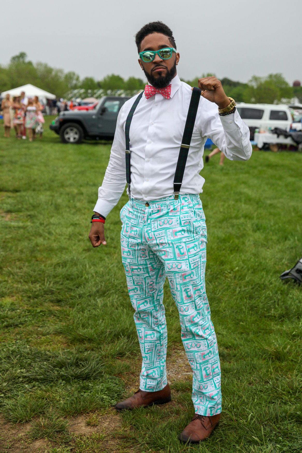Yes, those are Kentucky Derby pants.{ }(Amanda Andrade-Rhoades/DC Refined)