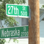 Part of 27th Street down to one-lane for water line repairs