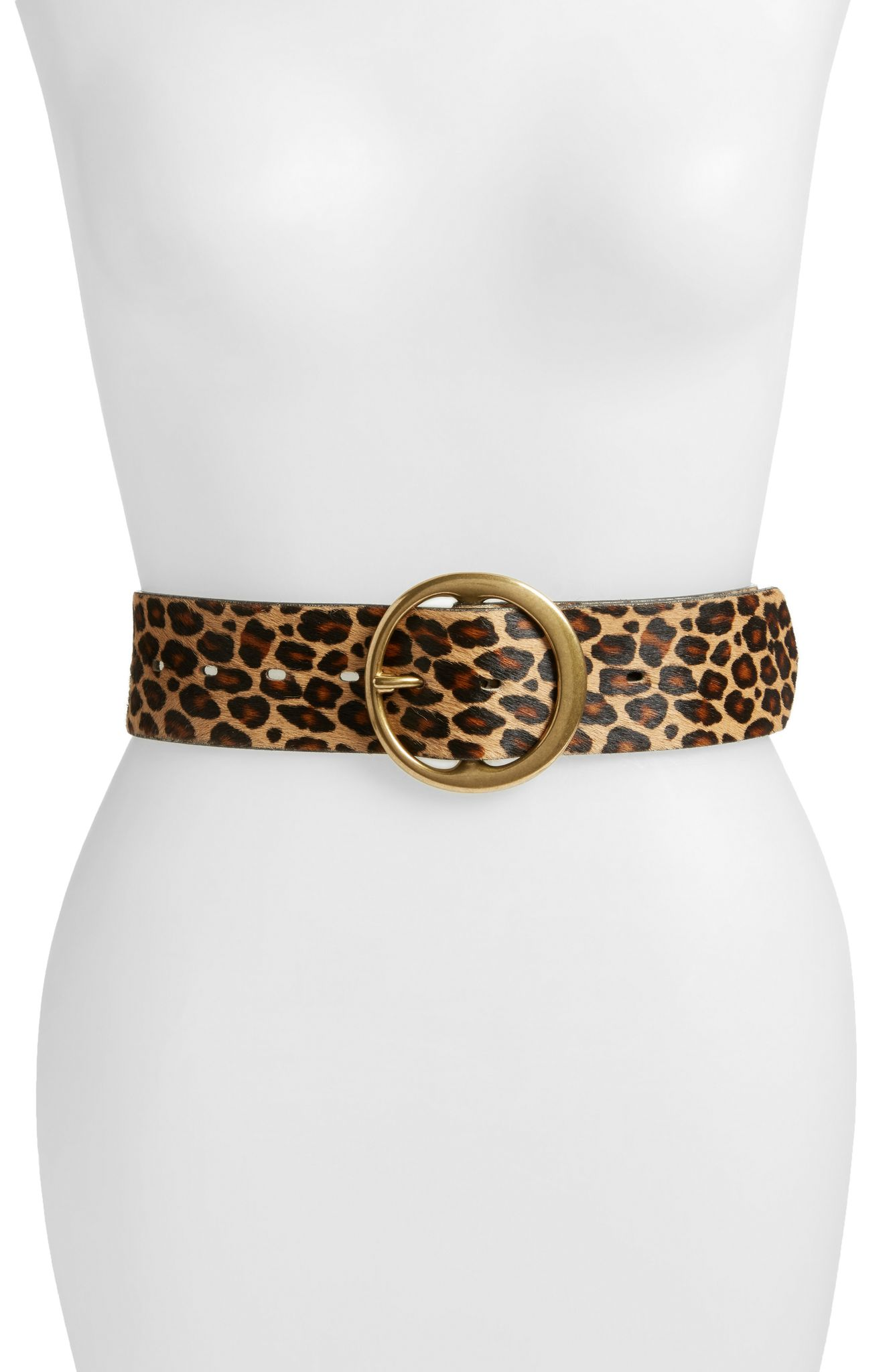 Treasure and Bond Wide Leopard Belt (normally $59): NOW $38.90 (Image: Nordstrom){ }