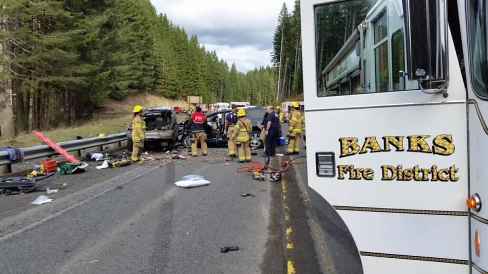 Police ID 2 killed in Highway 26 crash, 5 remain hospitalized | KATU