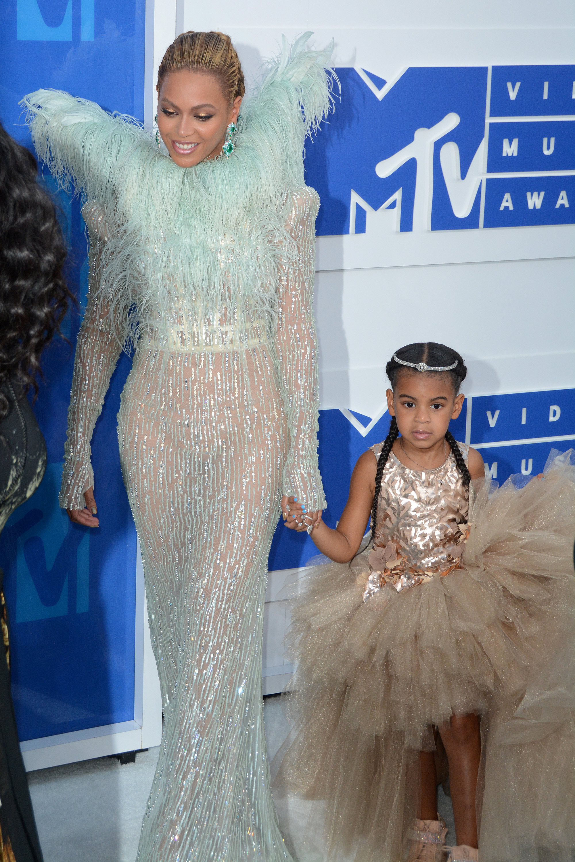 2016 MTV Video Music Awards - Red Carpet ArrivalsFeaturing: Beyonce, Blue Ivy CarterWhere: New York, New York, United StatesWhen: 29 Aug 2016Credit: Ivan Nikolov/WENN.com