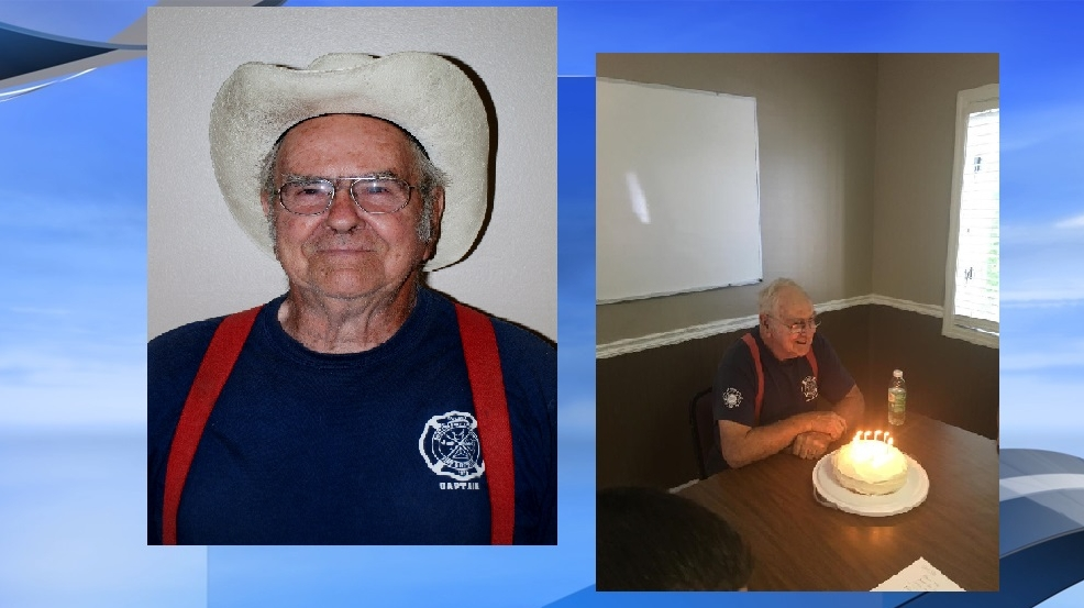 Burton Fire District celebrates 80th birthday for long-serving captain ...