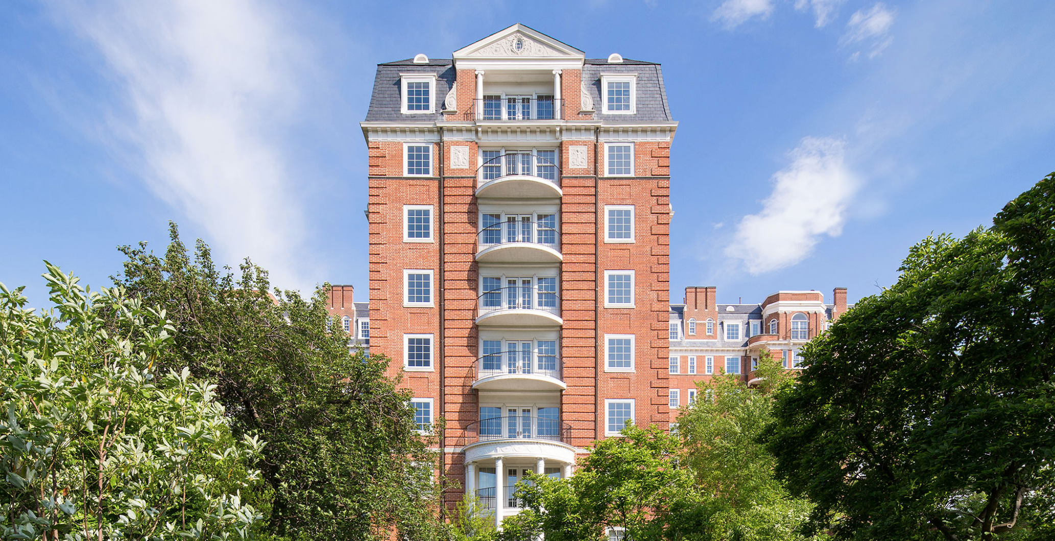 The historic nine-story building, located on the corner of Connecticut Avenue and Woodley Road, NW will have units ranging from $2.9 million to the $9.9 million penthouse! Once completed the Wardman Tower will be the priciest condominium building in the District to date. The renovation of the Wardman Tower reveals 32 rare historic two-to-four bedroom homes ranging from 2,200 - 4,600 square feet. (Wardman Tower Condominium Residence)