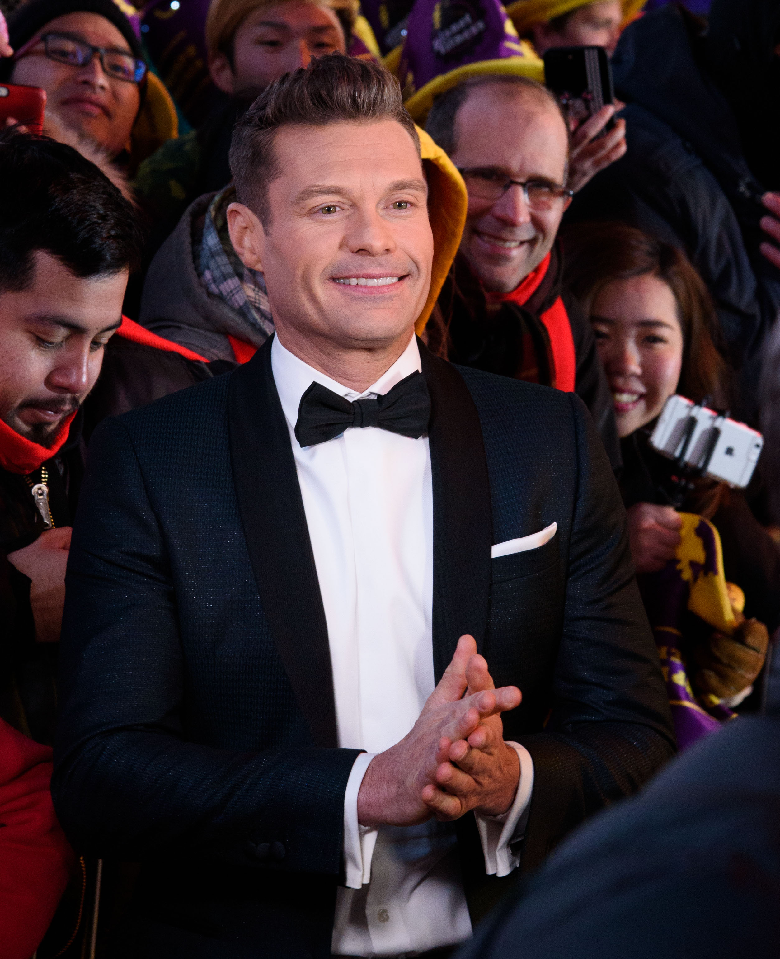 New Year's Eve celebrations in Times Square, New York                                    Featuring: Ryan Seacrest                  Where: New York, New York, United States                  When: 31 Dec 2016                  Credit: WENN.com