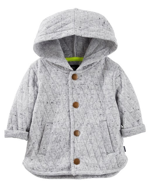 Oshkosh Baby B'gosh has recalled about 38,000 quilted jackets due to a potential choking hazard. (Photo: U.S. Consumer Product Safety Commission)