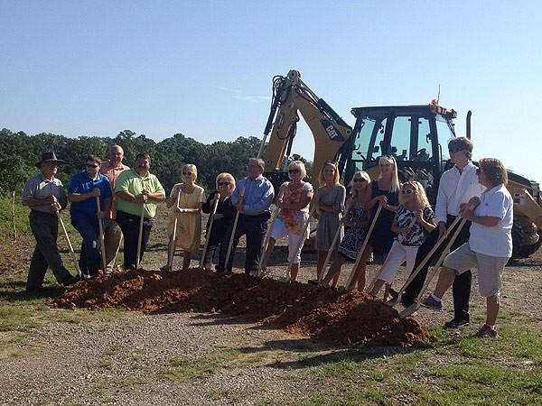 Fultondale Library Groundbreaking 7-23-12