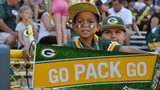 Weather moves Packers fans inside Lambeau Field concourse