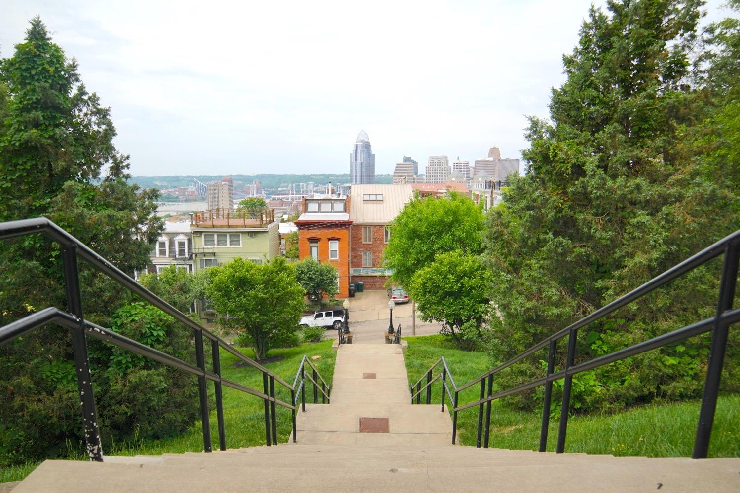 PLACE: Mt. Adams / PRICE: free / Consider an urban hike in the Mt. Adams neighborhood, from the outside of the Art Museum to Downtown, then back up to Eden Park. / SPECIAL CLOSURES: bars, restaurants, and the Cincinnati Art Museum / WEBSITE: mtadamscincy.org / Image: Brian Planalp // Published:{ }3.17.20