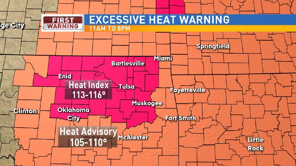 Excessive Heat Warning Thursday