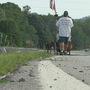 Veteran walking across US to raise PTSD awareness heads towards Chattanooga