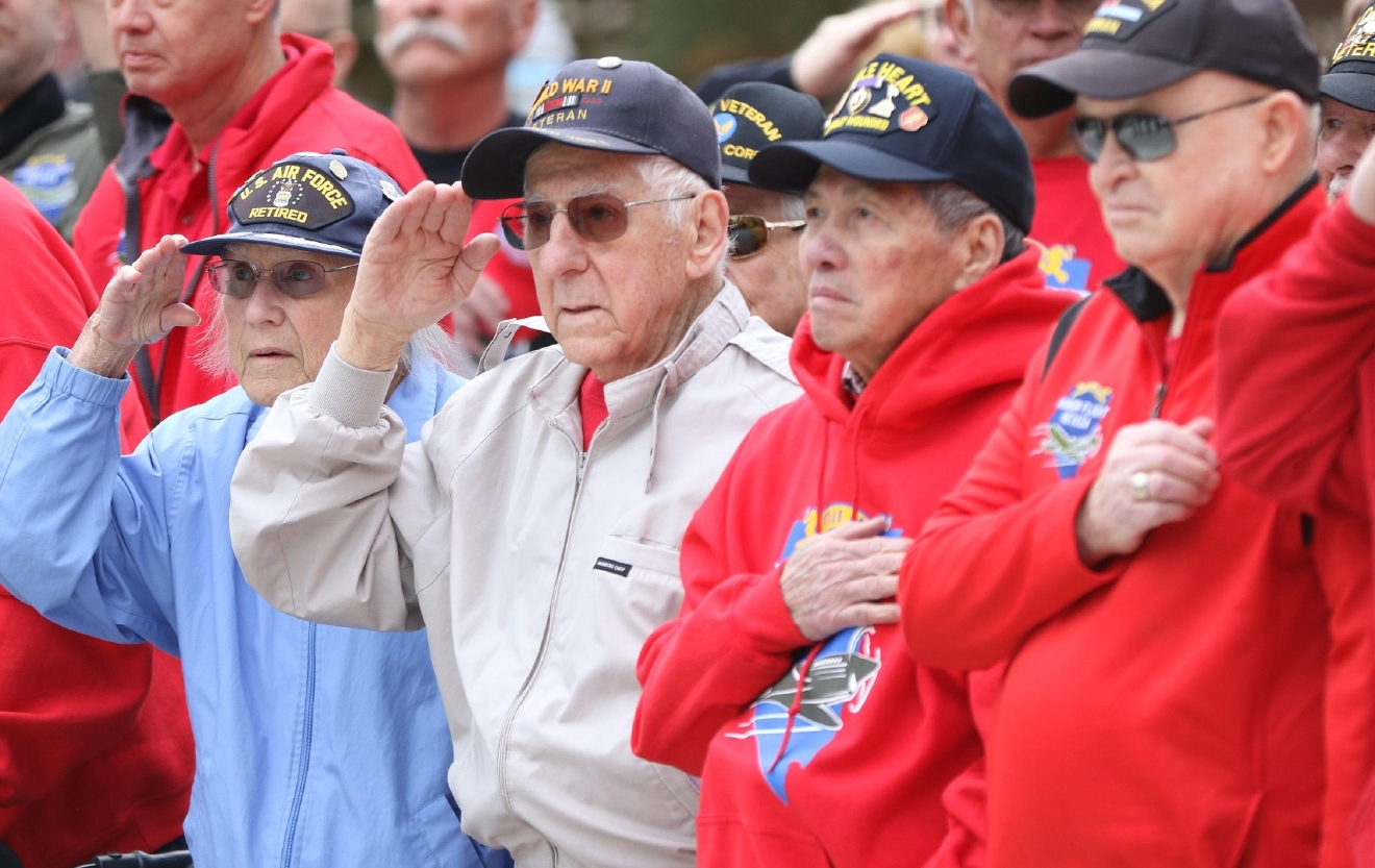 Local veterans attend veterans and Military Day at Legislature