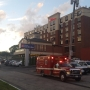 Providence hotel evacuated due to toxic smoke, police say