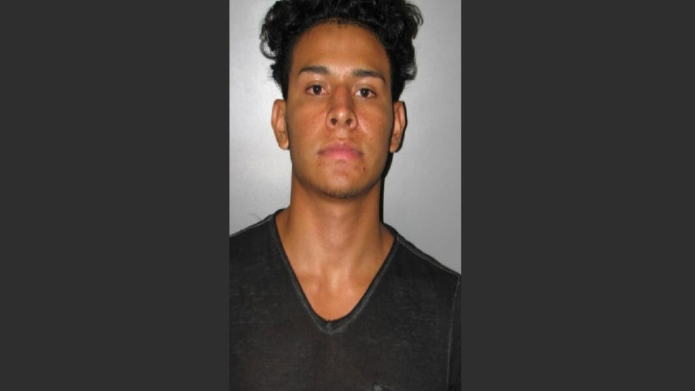 Hernandez Palacios,19, was arrested for sexually assaulting a 12-year-old girl he met on Facebook. He was arrested on Thursday, Aug. 25, 2016. (Montgomery County Police)