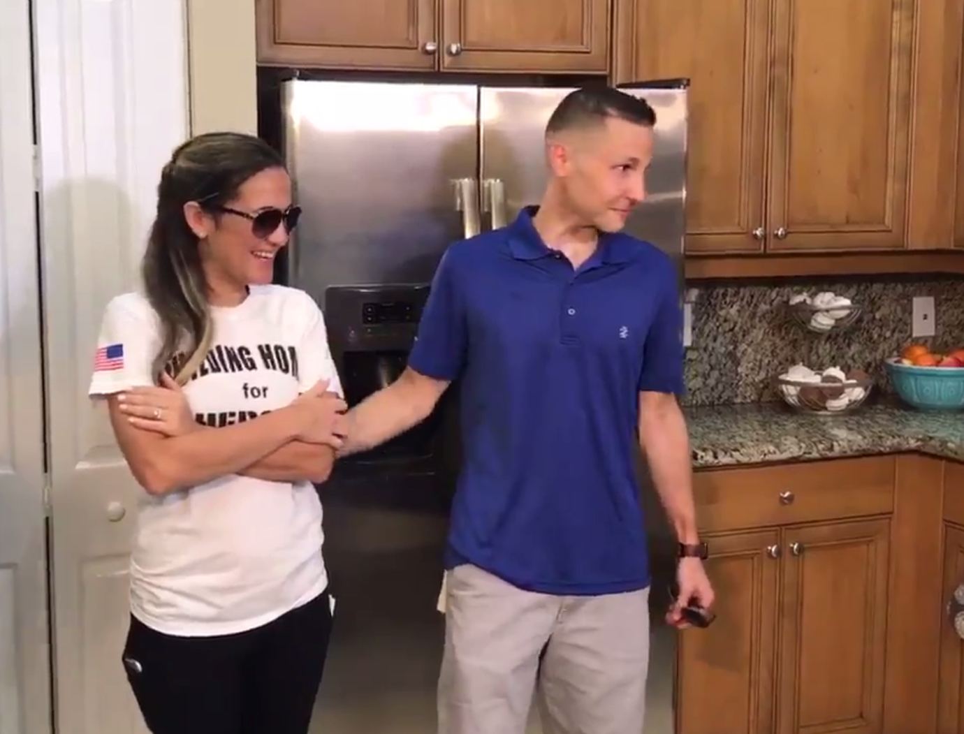 Veteran and wife get new home and 'new life' after health adversaries. (WPEC)