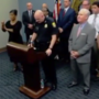 Imposter sign language interpreter signs gibberish during police press conference