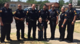 Amarillo police officers help make child's 6th birthday more special