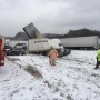 Multiple injuries in 50-car pileup east of Cleveland