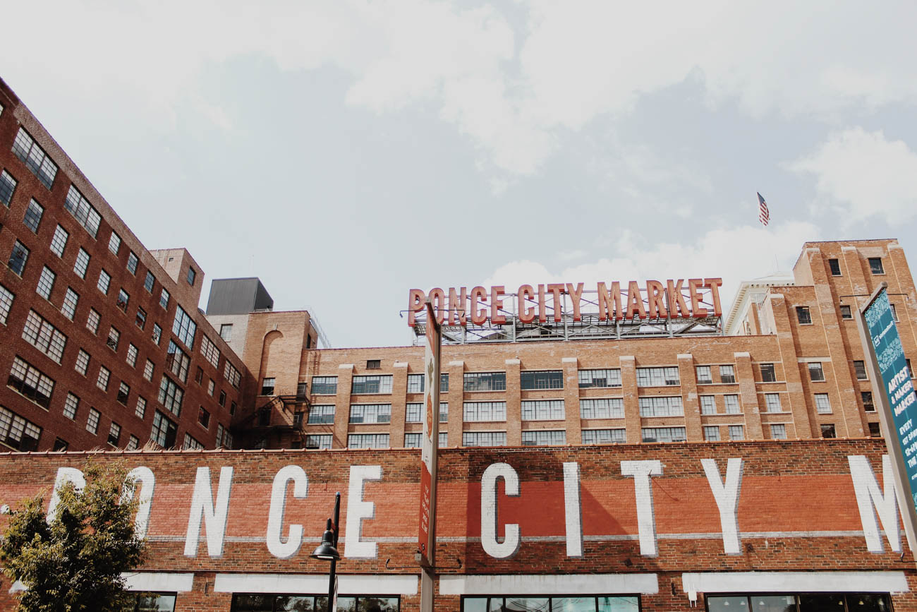 <p>Rooftop bars like 9 Mile Station at Ponce City Market offer sweeping views of the Atlanta skyline along with their selection of craft beer and cocktails. ADDRESS: 675 Ponce de Leon Avenue NE Atlanta, Georgia (30308) / Image: Emma Valerio via Unsplash // Published: 4.3.19</p>