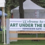 Over 100 vendors sell their wares at Dogwood Festival Art Under the Elms