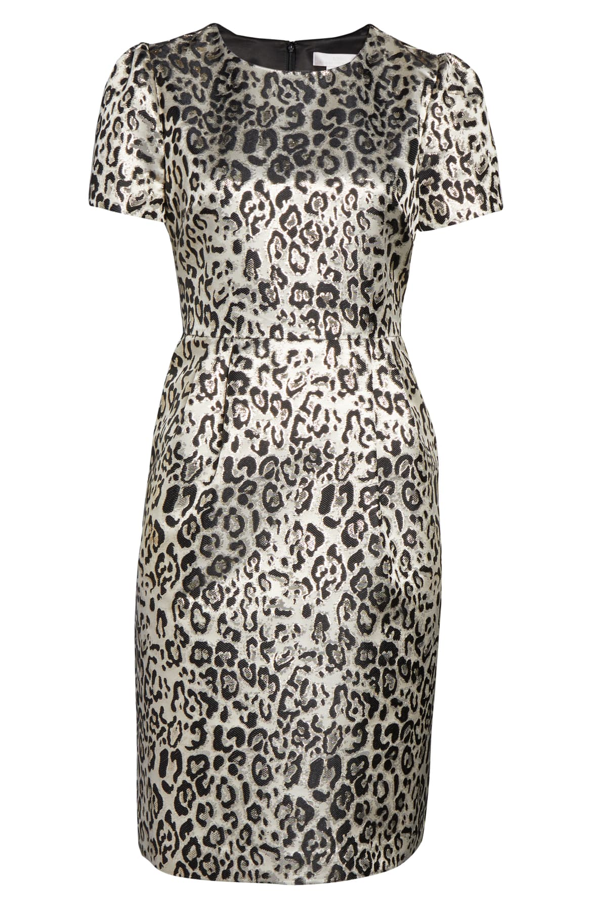 Enliven your 9-to-5 day in this leopard-print frock highlighted with metallic glimmer that will take you all the way to 11 o'clock (at least). $139 -{ }Shop the Look{ }(Image: Nordstrom){ }